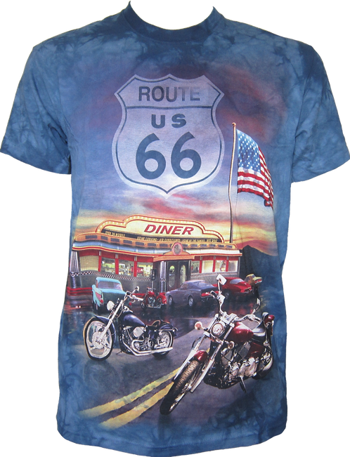 The Mountain Route 66 Motorbikes Biker Diner America