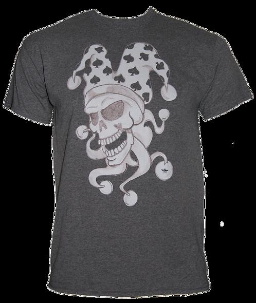 Dead Funny Jester Skull