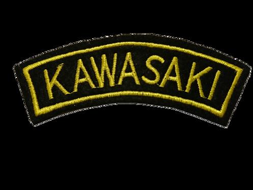 Kawasaki Biker Shoulder Patch