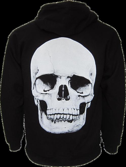 Big Skull Zip Hoody