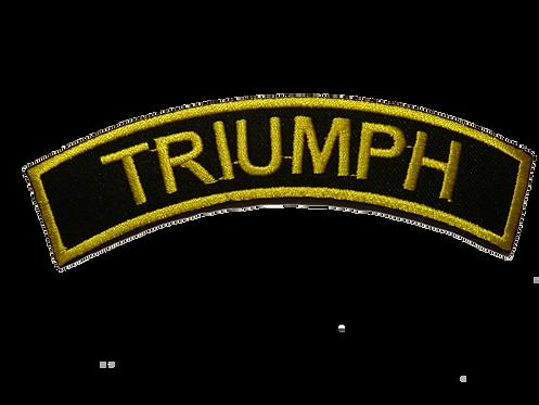 Triumph Biker Shoulder Patch