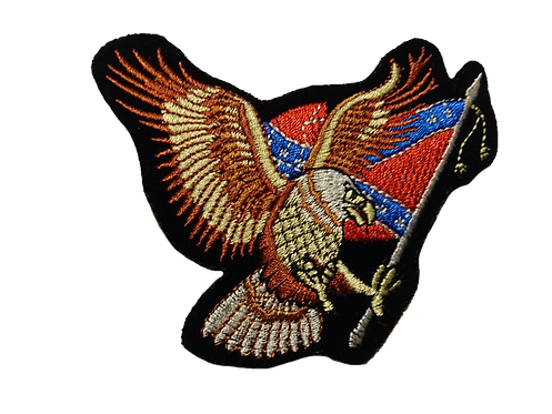 American Eagle and Flag Patch