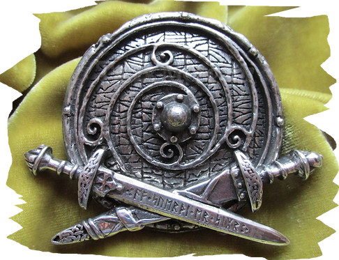 War Band Pewter Buckle
