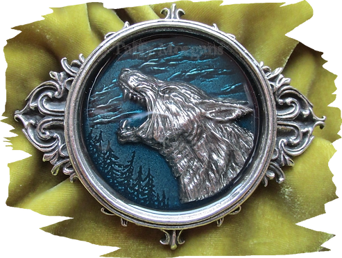 Wulven Pewter Buckle