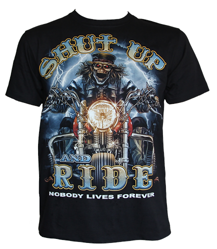 Shut up and Ride Glow in the Dark