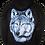 Thumbnail: Lone Blue Wolf Zip Hoody