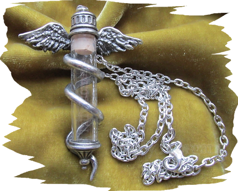 Rod of Asclepius Pendant