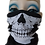 Thumbnail: Half Skull Face Mask Covering Neck Warmer Tube