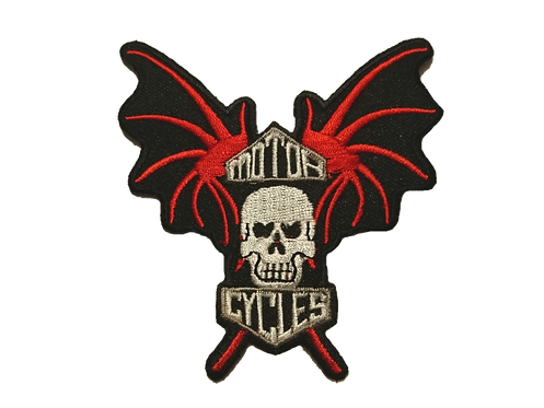 Motorcycle Wings Patch