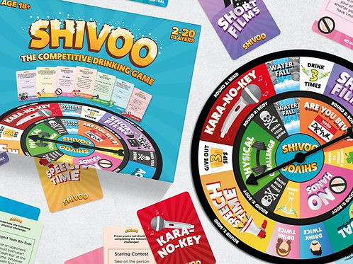 Pre-Order - Shivoo: The Competitive Drinking Game
