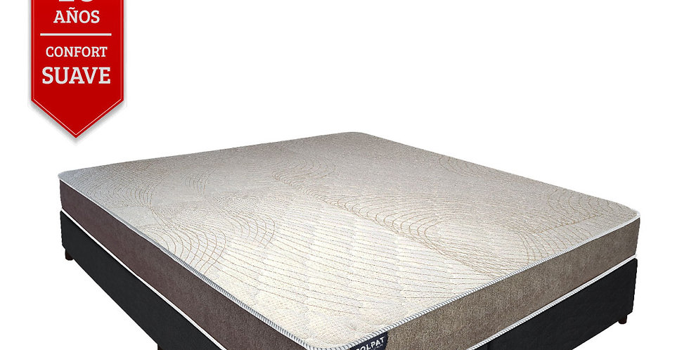 Conjunto Sommier Colpat Olympos (Queen Size 28 cms)