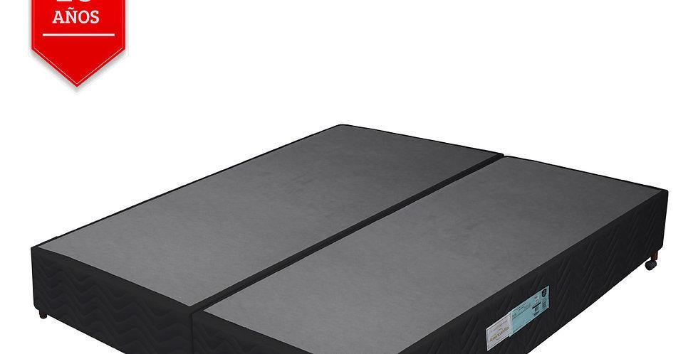 Conjunto Box Negro Abrace (Queen Size)