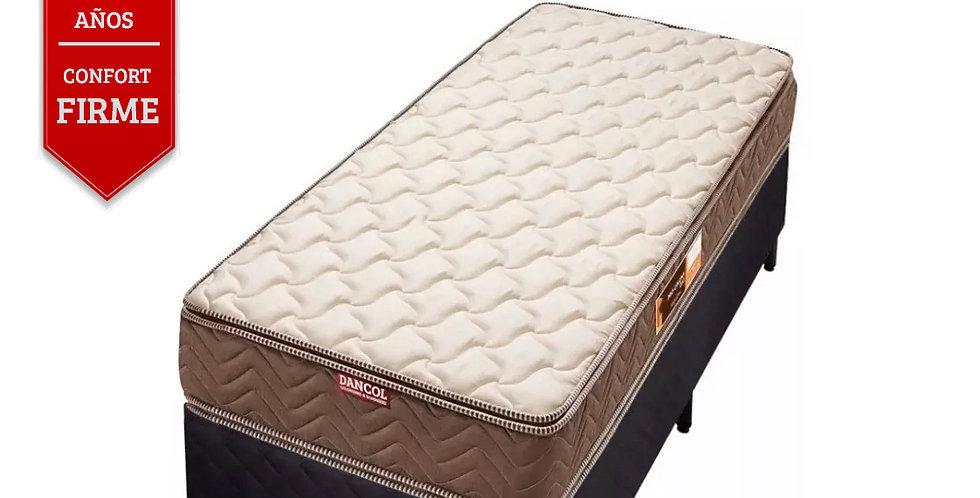 Conjunto Sommier Procoluna 33 Doble Pillow (1 Plazas)
