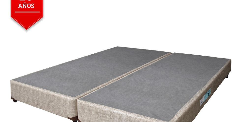 Conjunto Box Beige Multiflex (Extra King)