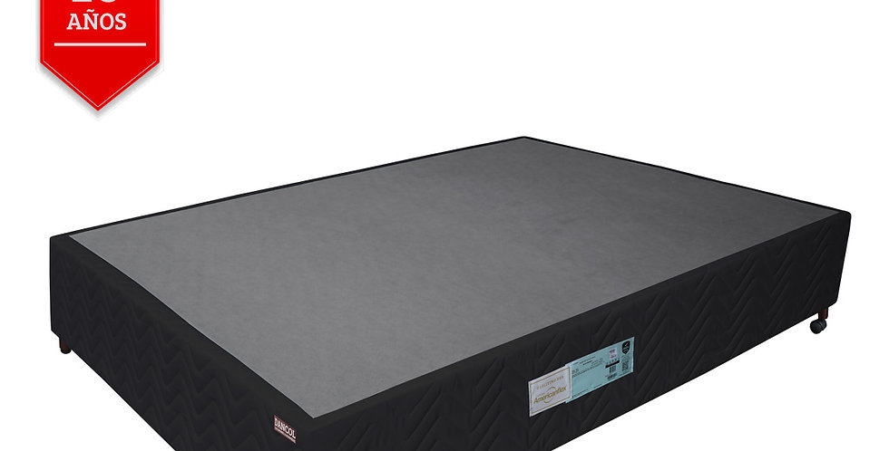 Box Negro Abrace (2 plazas)