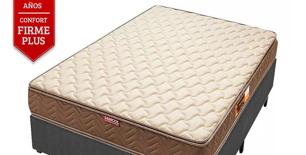 Conjunto Sommier Procoluna 45 Doble Pillow (2 Plazas)