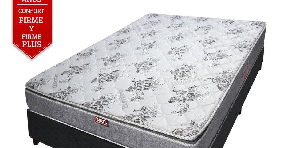 Conjunto Sommier Premium Comfort 33 /Pillow (2 plazas)