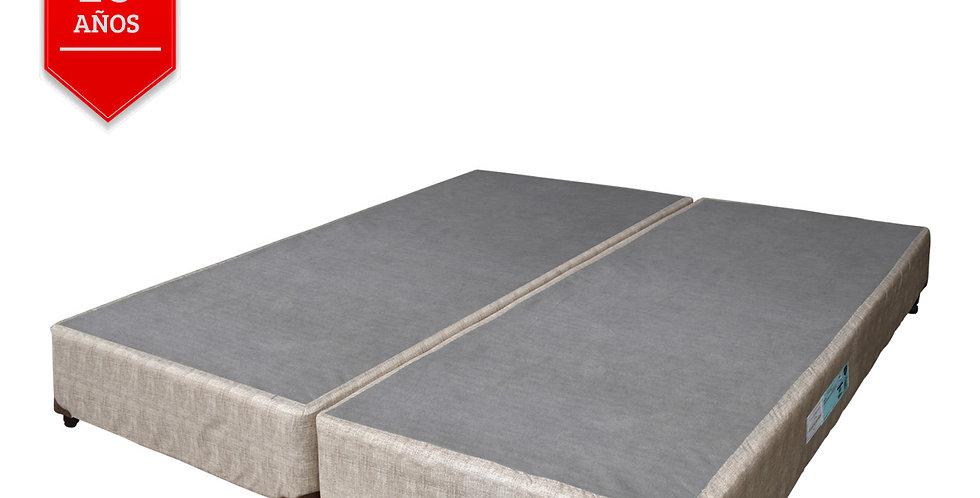 Conjunto Box Beige Multiflex (Queen Size)