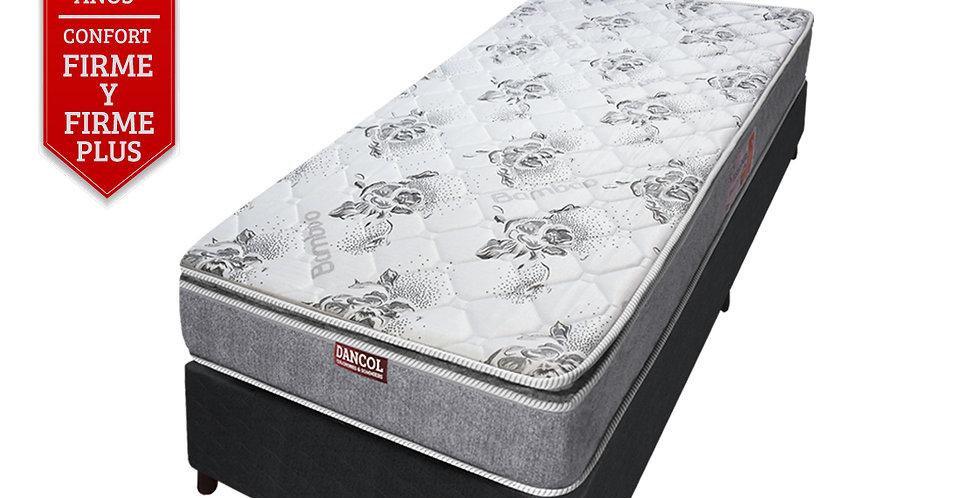 Conjunto Sommier Premium Comfort 33 /Pillow (1 plaza)