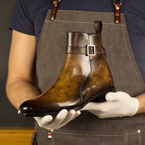 Xavi Row Strapped Bootss