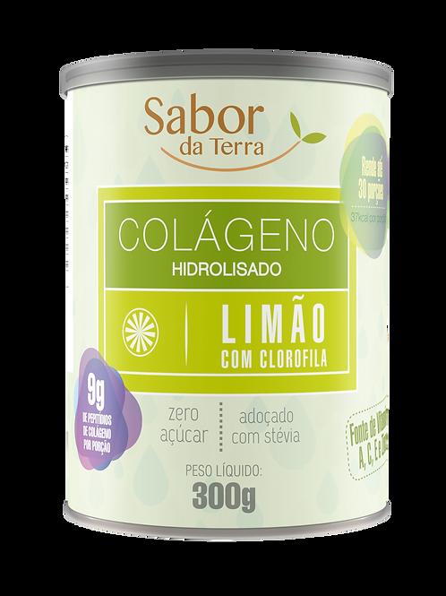 Colágeno Sabor Limão com Clorofila 300g