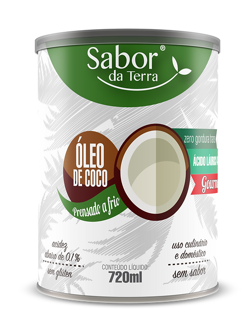 Óleo de Coco 720 ml (pote)