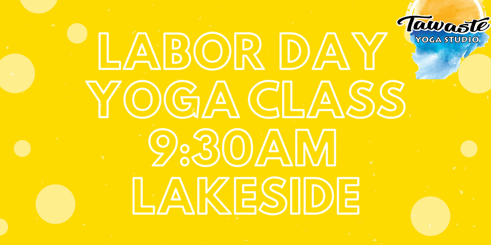 Labor Day Yoga Class