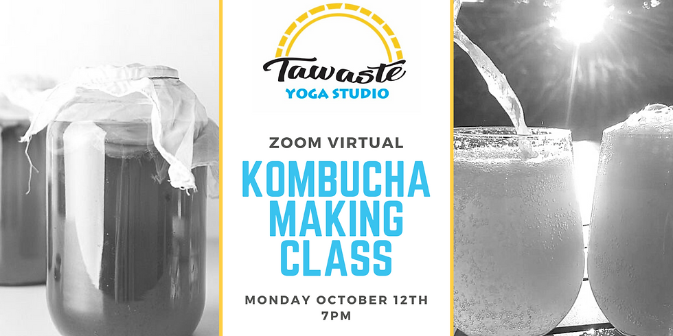 Virtual Kombucha Making Class