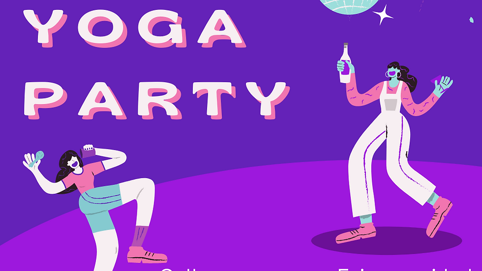Host a YOGA PARTY