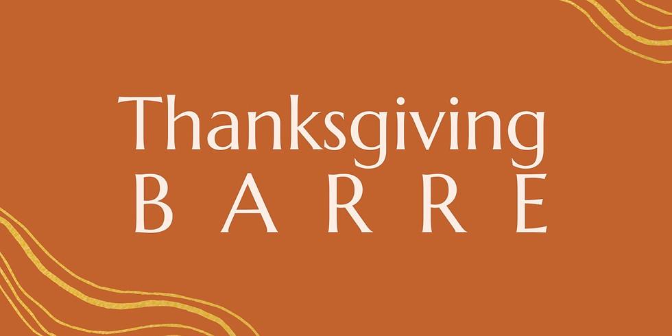 Thanksgiving BARRE