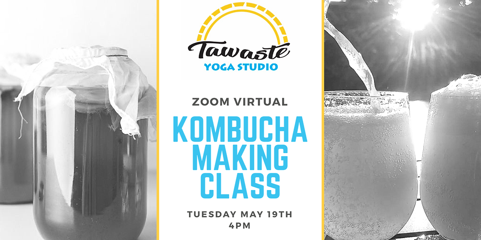 Kombucha Making Class on Zoom