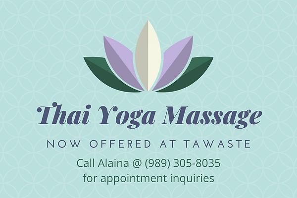 Teal Lavender Chakra Spa Massage Gift Ce