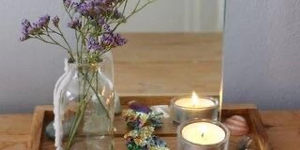 Sacred Space Home Meditation Prayer Altar