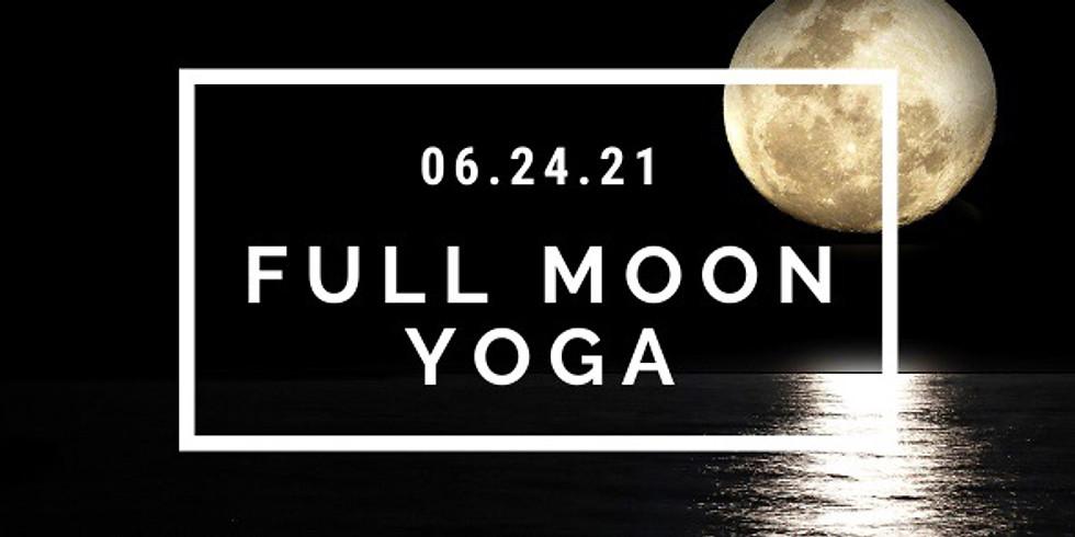 June Full Moon Yoga