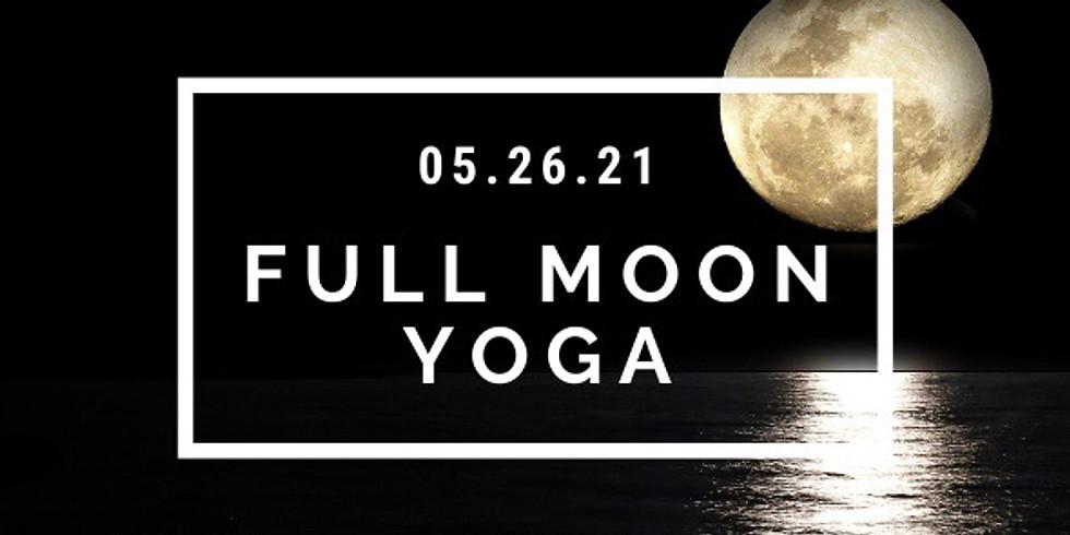 May Full Moon Yoga