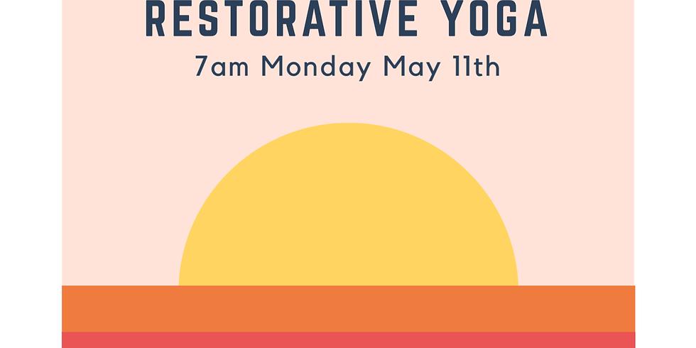 Restorative Yoga Monday 7pm