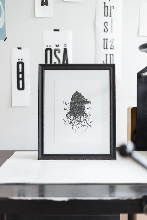 Ice King in a frame