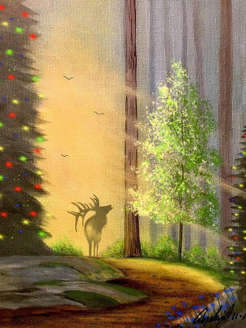 Elk Bugle at Christmas