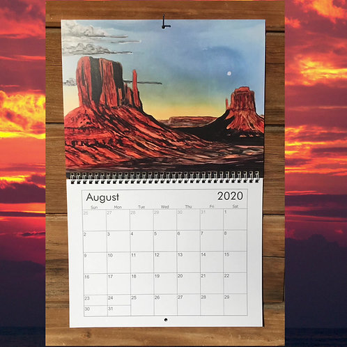 2020 Calendar The Art of Alcohol Inks II