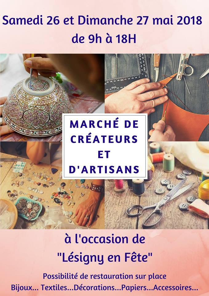 Marché de créateurs et d'artisans de Lésigny
