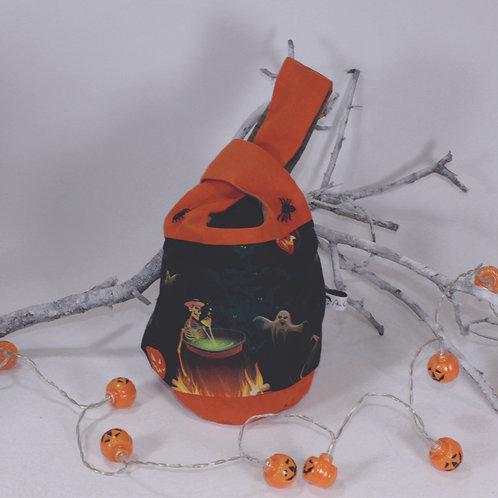 Sac a bonbons halloween chaudrons