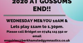 Preschool Gymnastics at Gossoms End