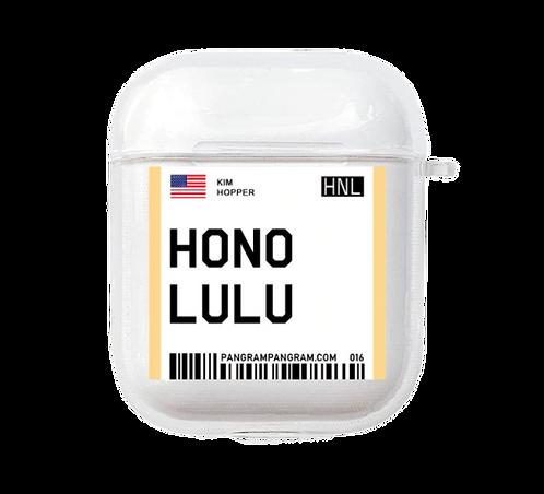 Honolulu Boarding Pass