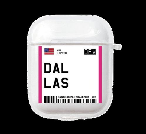 Dalas Boarding Pass