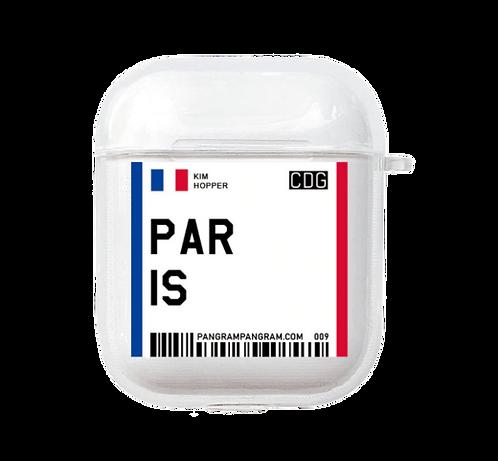Paris Boarding Pass