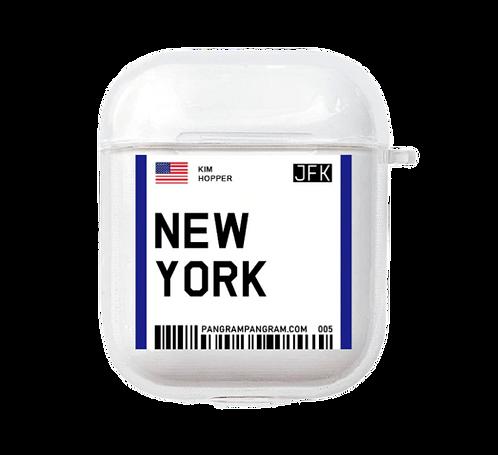 New York Boarding Pass