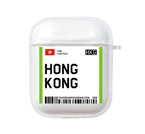 Hong Kong Boarding Pass