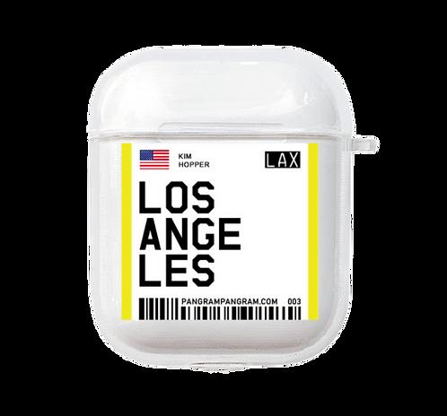 Los Angeles Boarding Pass