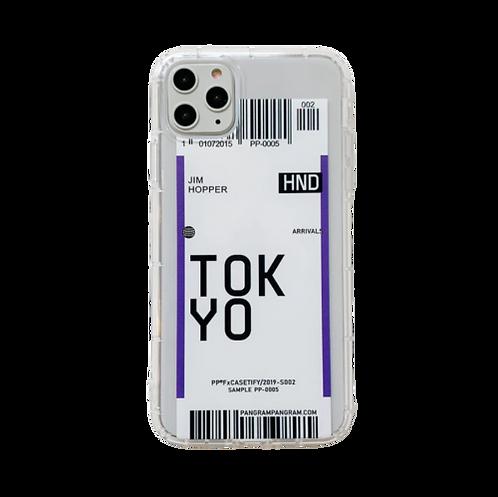 Coque iPhone billet d'avion Tokyo