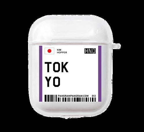 Tokyo Boarding Pass